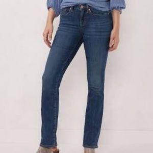 Lauren Conrad size 10 dark wash jeans Straight leg